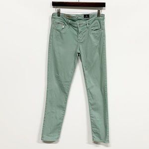 Ag Adriano Goldschmied Jeans - AG The Stevie Ankle Zip Slim Straight Leg Jean 27R